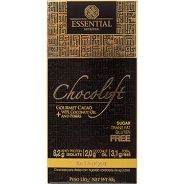 Imagem de Chocolate Chocolift Essential Nutrition 40g