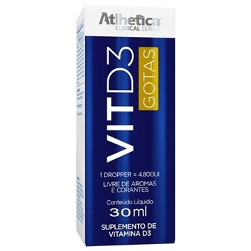 Imagem de Vitamina D3 Atlhetica 30ml