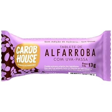 Imagem de Alfarroba Carob House Uva Passa sem açúcar 13g