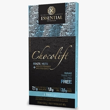 Imagem de Chocolate Chocolift Be Brilliant Essential Nutrition 40g