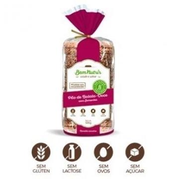 Imagem de Pão Bem Nutrir de Batata Doce com sementes sem glúten 500g