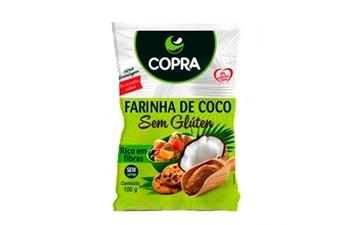 Imagem de Farinha de Coco Copra Sem Glúten Live 100g