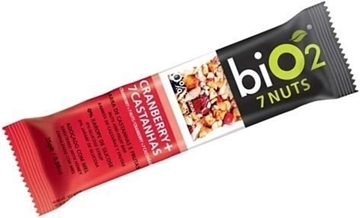 Imagem de Barra Bio2 7 Nuts Cramberry Castanhas 25g