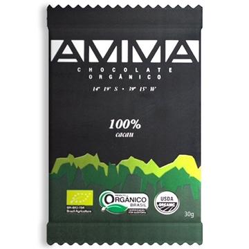 Imagem de Barra Chocolate Amma 100 30g