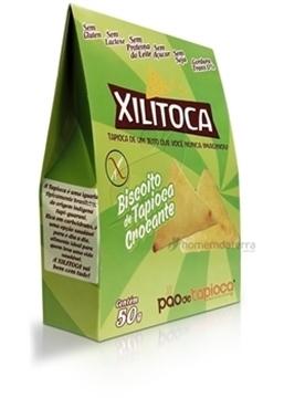 Imagem de Biscoito Xilitoca Tapioca Crocante 50g