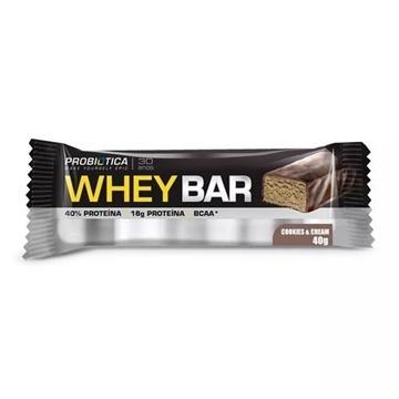 Imagem de Barra de Proteína Whey Bar Probiótica Cookies 40g