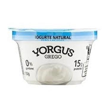 Imagem de Iogurte Yorgus Natural 0% 130g