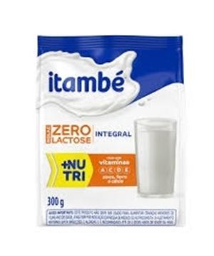 Imagem de Leite Pó Itambe Zero Lactose Pouch 300g