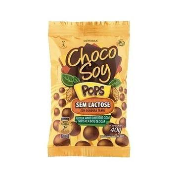 Imagem de Chocolate Chocosoy Flocos Pops 40g