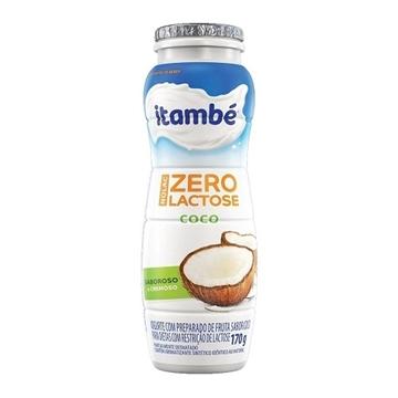 Imagem de Iogurte Itambé sem lactose Coco 170g