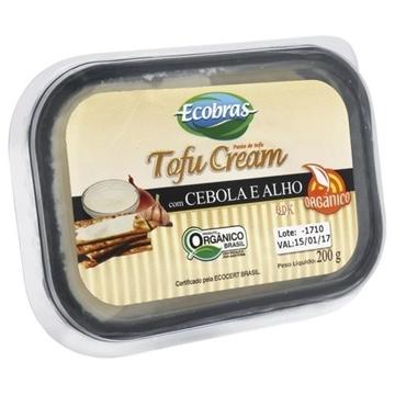 Imagem de Tofu Ecobras Cream orgânico Alho Cebola 200g