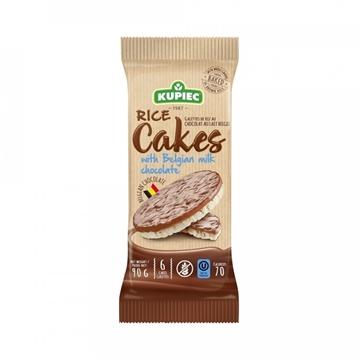 Imagem de Biscoito de Arroz com Chocolate Ao Leite Kupiec 90g