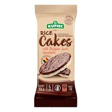 Imagem de Biscoito de  Arroz com Chocolate Meio Amargo Kupiec 90g