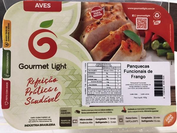 Imagem de Panqueca Funcional Gourmet Light Frango 400g