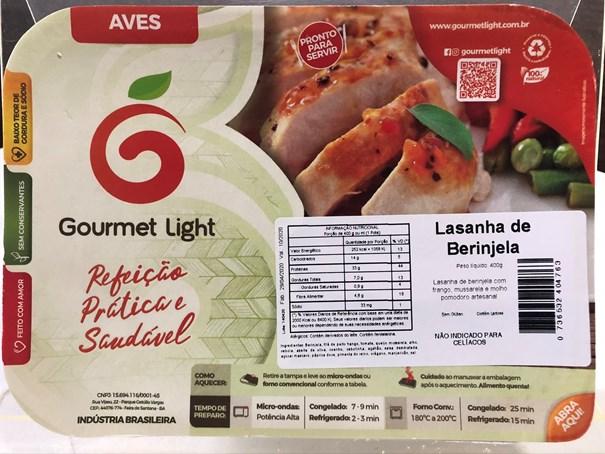 Imagem de Lasanha Gourmet Light Beringela 400g