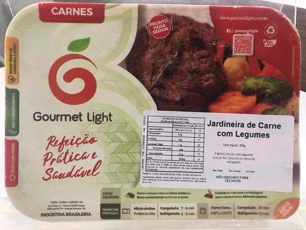 Imagem de Jardineira de carne com legumes Gourmet Light 400g