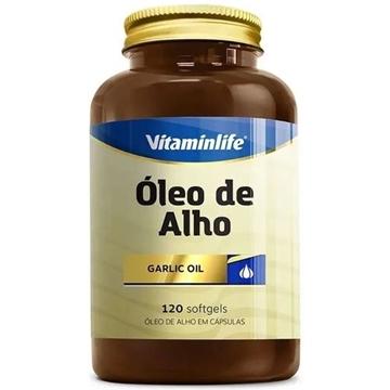 Imagem de Óleo de alho - Garlic Oil Vitamin LIfe  250mg 120caps
