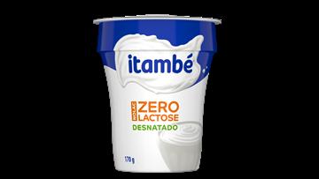 Imagem de Iogurte Natural Desnatado Zero Lactose Itambé 170g