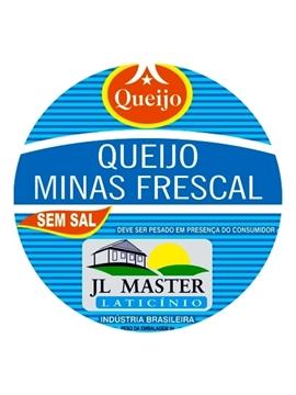 Imagem de Queijo Minas Frescal Sem Sal JL Master Laticínio (100 G)