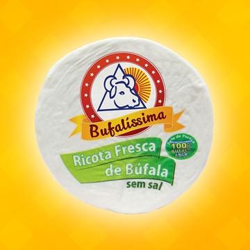Imagem de Queijo Ricota de Búfala Sem Sal Bufalíssima (100 G)