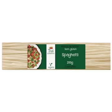 Imagem de Macarrão de Arroz Espaguete Sem Glúten Tui Alimentos 200g