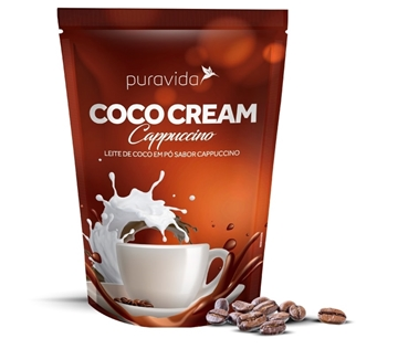 Imagem de Leite de Coco - Coco Cream Capuccino Pura Vida 250g