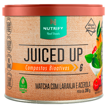 Imagem de Juiced Up Matcha com Laranja e Acerola 200g NUTRIFY