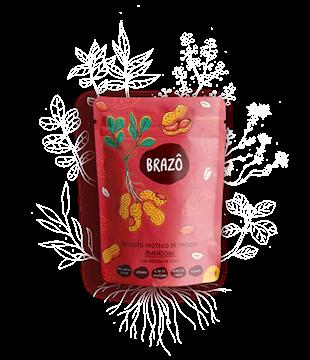 Imagem de Biscoito proteico de tapioca amendoim 30g- Brazô