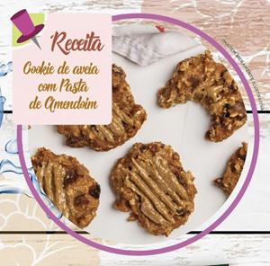 Cookie de Aveia com Pasta de Amendoim