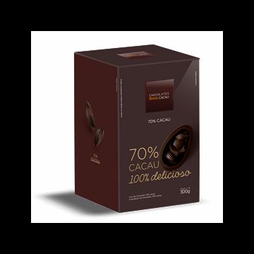 Imagem de Ovo de Pascoa 70% Cacau Zero Açúcar - Mendoa 300g