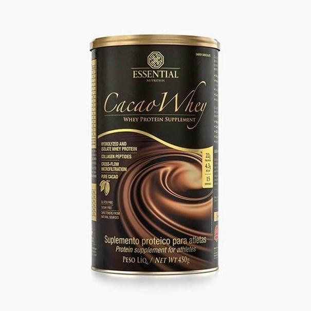 Imagem de Proteína Cacao Whey Essential Nutrition 450g
