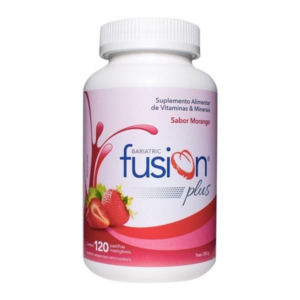 Imagem de Suplemento Vitamínico Bariatric Fusion Morango 120caps