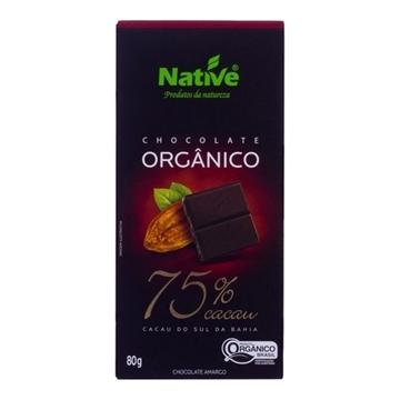 Imagem de Chocolate Orgânico Native 75% Cacau 80g