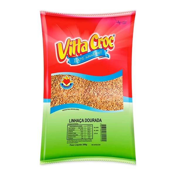 Imagem de Farinha de Linhaça Dourada Vitta Croc 200g