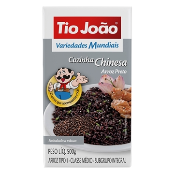 Imagem de Arroz Preto Tio João 500g