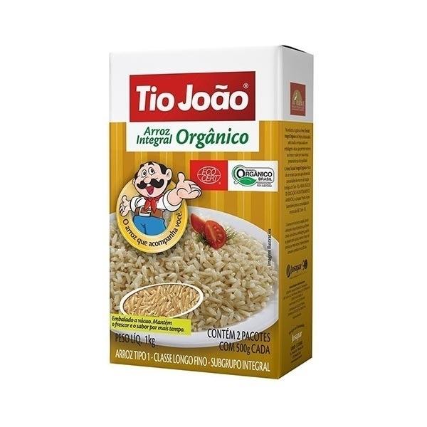 Imagem de Arroz Orgânico Tio João Tipo 1 1kg