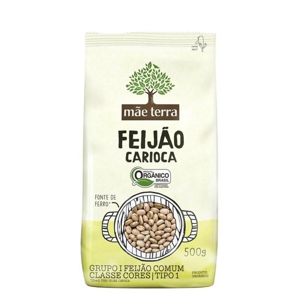 Imagem de Feijão Carioca Orgânico Mãe Terra 500g