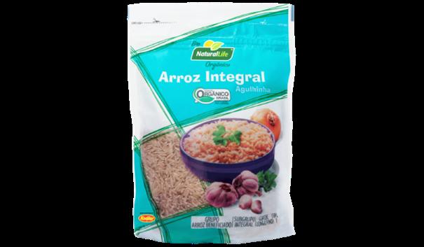 Imagem de Arroz Integral Orgânico Natural Life 500g