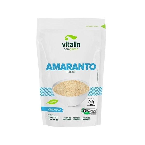 Imagem de Amaranto Orgânico Vitalin Flocos 150g