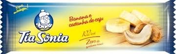 Imagem de Barra de Cereal Tia Sonia Banana Castanha 25g