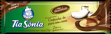 Imagem de Barra de Cereal Tia Sonia Coco Castanhas 20g