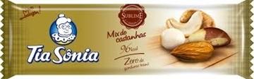 Imagem de Barra de Cereal Tia Sonia Mix Castanhas 20g