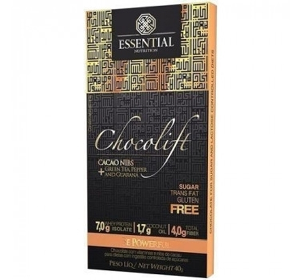 Imagem de Chocolate Chocolift Be Powerful Essential Nutrition 40g