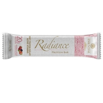 Imagem de Barra de Proteína Radiance Whey Berries + White Chocolate Essential Nutrition 70g