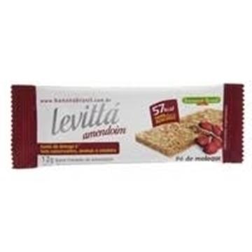 Imagem de Barra de Cereal Levitta Crocante Pé de Moleque 12g