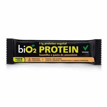 Imagem de Barra de Proteína Orgânica Bio2 Baunilha Pasta de Amendoim 40g