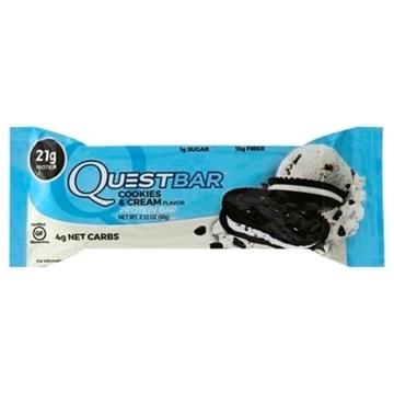 Imagem de Barra de Proteína Quest barra Cookie Cream 60g