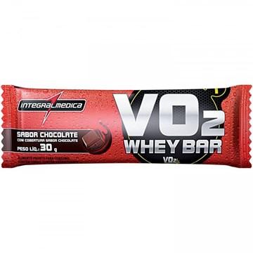 Imagem de Barra de Proteína IntegraMédica Protein Bar - 30g - Sabor Chocolate