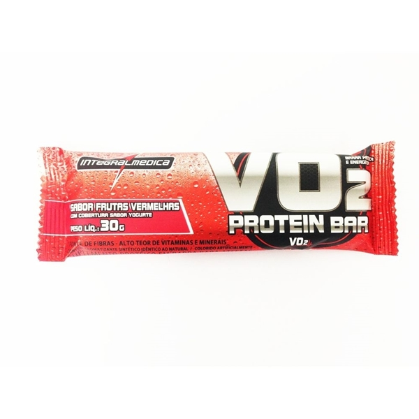 Imagem de Barra de Proteína VO2 Slim Frutas vermelhas Yogurt 30g
