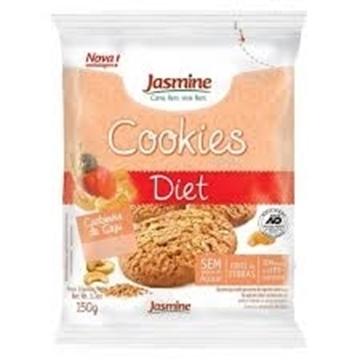 Imagem de Biscoito Cookies Jasmine Diet Castanha Caju 150g